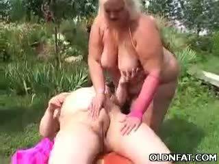 脂肪 成熟 金发 玩具 性交