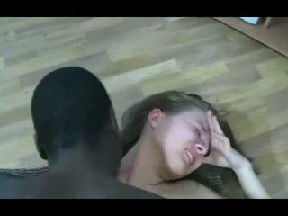 bruneta, čierna a ebony, cumshot