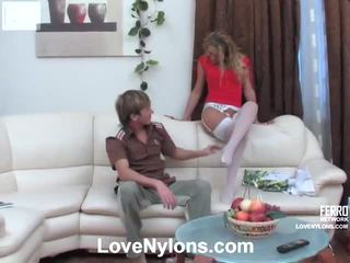 Susanna And Rolf Vehement Pantyhose Video Action
