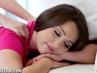 Išskirtinis visi mergaitė masažas paauglys lesbiečių putė eating