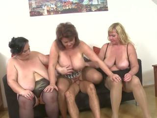 Busty Matures Suck and Fuck Toy Boys, HD Porn f5