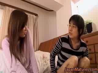 日本语 成熟 女人 has 可爱的