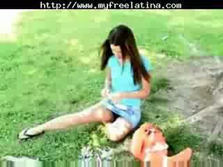 可愛 chloe - pinata 有趣 和 更多 chica 附帶 shots chica 吞 braziliera mexicana 西班牙人