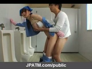 Giapponese pubblico sesso - asiatico adolescenza exposing fuori part03