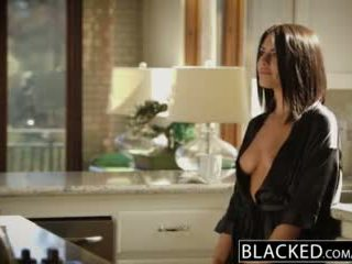 Blacked брюнетка adriana chechik takes trio з bbcs