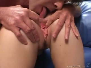 Elizabeth Lawrence gets her tight little ass fucked while being fingered
