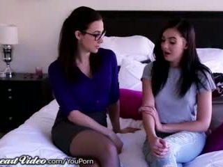 Sweetheart Teen Lesbian Licked by Professor