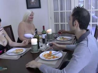 Agedlove 할머니 토실 토실 살찐 lacey 스타 met 그녀의 friends: 포르노를 d9