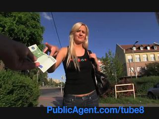 PublicAgent Stunning blonde loves getting fucked by my big dick
