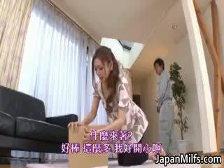 Emi harukaze asiatique beauty est une en chaleur part4