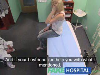 Fakehospital arst prescribes orgasms kuni aitama patients valu relief
