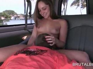 Dulce amator adolescenta gets slick pizda licked în