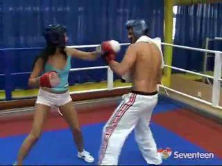 色情 内 该 拳击 ring