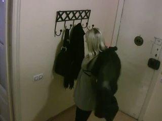 Igazi rejtett cameras:cheating és baszás forró roommate