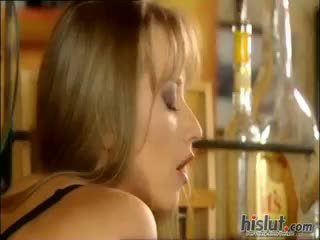 blowjob, cumshot, blondine