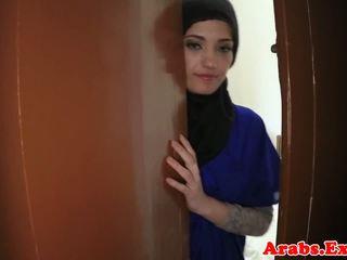 Arabian nghiệp dư beauty pounded vì tiền mặt, khiêu dâm 79
