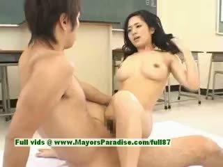 Sora aoi chaud fille sexy japonais étudiant gets une dur baise
