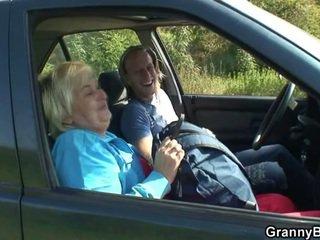 Samochód driver bangs stary kurwa