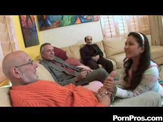 Nghiệp dư sự nịnh hót multiple dicks