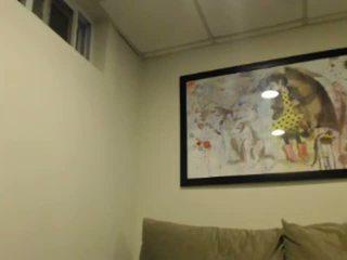 stora rumpor, svart och ebony, webbkameror