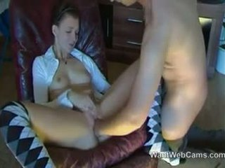 Girl Gets Fisted By Her Boyfriend
