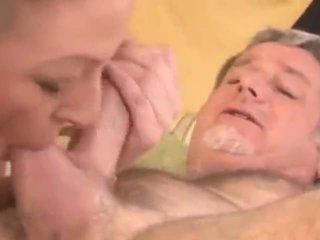 deepthroat, شفهي, أب