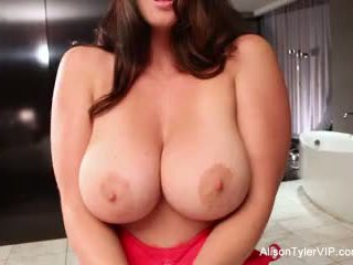Alison tyler gets perses