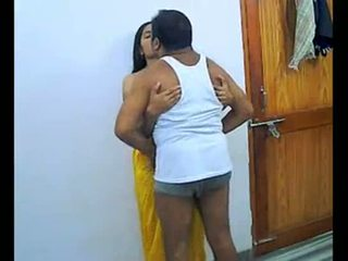 Indiai pár enjoying romantic