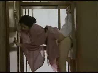 japonais, baisée, femme au foyer