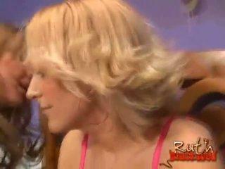 hottest blondes, fun interracial, ffm