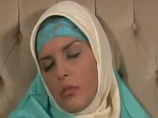 Horney arab lány