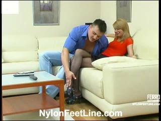 Alice at nicholas medyas footsex action