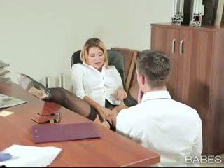 Офіс краля anna polina banged реальний добре
