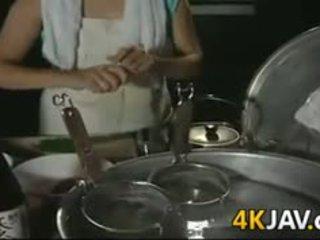 Madura japonesa chica getting follada