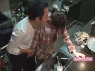 Aranyos szexi koreai lány baszás