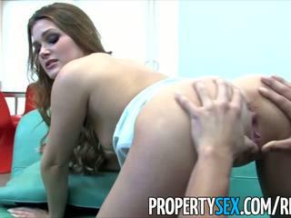PropertySex - Naughty realtor Abby Cross