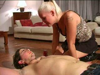 Spitting Femdom: Free BDSM Porn Video e1