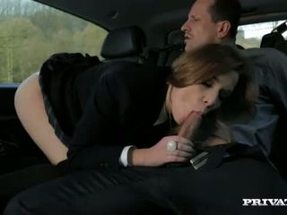 Alexis Crystal Pussy Banged In The Car