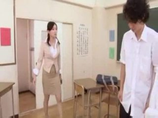 Горещ японки учител