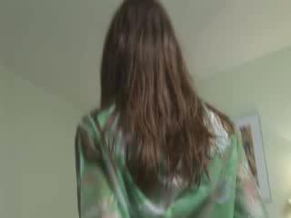 Seksi ivana membuat mewah masturbation