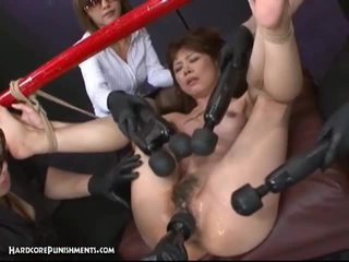 Japans bondage seks met hary poesje aziatisch hoer en filthy speeltjes