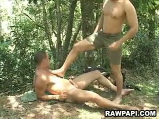 Papi Gay Anal Pounding With Cumshots