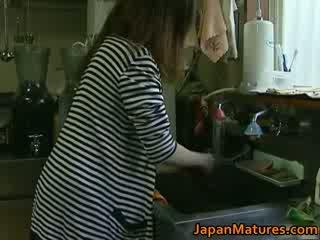 Japānieši mammīte enjoys karstās sekss