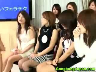 Jap oriental Blow Job orgy
