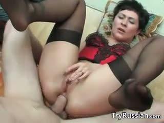 Špinavý ruský matka wants anální