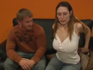 Big natural titted hottie gets her ass fucked