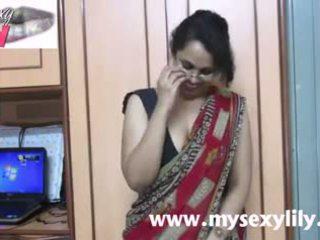 Indisch babe lily seks leraar