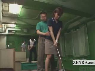 Subtitled kuliste japon salıncak erection demonstration