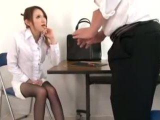 Schattig leraar masturbation en voetjob, porno d1