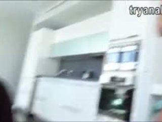 Bela gaja charli acacia anal tentar fora enquanto being filmed
